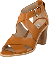 Clarks - Oriana Bess Tan Leather