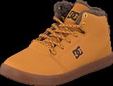 DC Shoes - Crisis High Wnt B Shoe Wheat/Dk Chocolate