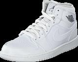 Nike - Air Jordan 1 Mid White-grey