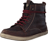 Wrangler - Woodland Mok Dr Brown Leather