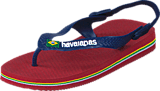 Havaianas - Baby Brasil Logo Red