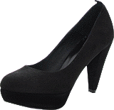 Black Lily - Cinderella Pump Black