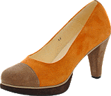 Norrback - Pia pumps Orange , brown