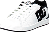 DC Shoes - Kids Net Shoe White/Black