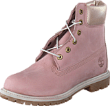 Timberland - 6 In Premium Light Pink Nubuck