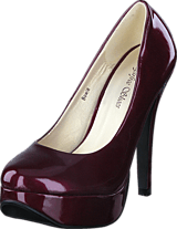 Sugarfree Shoes - Bowie Dark Red/Patent