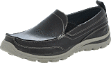 Skechers - Moc Toe - Slip on CHAR - grå