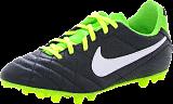 Nike - Jr Tiempo Natural IV LTR AG BLACK-WHITE