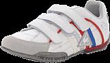 Le Coq Sportif - Sedan Stripe Velcro Jr Bright White New