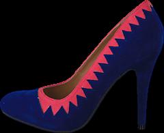 Sugarfree Shoes - Zig Zag Blue