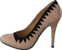 Sugarfree Shoes - Zig Zag Nude