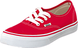 Vans - K Authentic Red/True White