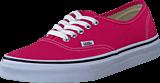 Vans - U Authentic Rouge Red/True White
