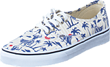Vans - Authentic (Hula Stripes) True White