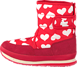 Rubber Duck - Classic SnowJoggers Heart Print/Fiery Red