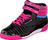 Reebok Classic - F/S Hi Black/Charged Pink/Blue/White