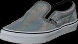 Vans - Classic Slip-On (Matte Iridescent) Silver
