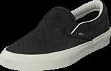Vans - Classic Slip-On (Braided Suede) Black