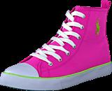 Ralph Lauren Junior - Harbour Hi Hot Pink Canvas