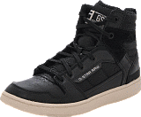 G-Star Raw - Core II Spectrum Hi Lthr Black Lthr & Textile w White