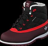 adidas Originals - Adi Navvy Quilt K Black 1/Hi-Res Red3/Hero