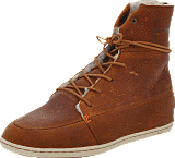 Hub Footwear - Song Leather/Wool Brown