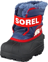 Sorel - Snow Commander NV1805-591 Nocturnal/Sail Red