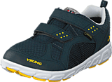 Viking - Hobbit GTX Dark Blue/Yellow