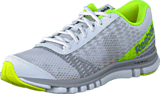 Reebok - Sublite Duo Instinc White/Steel/Grey/Neon Yellow