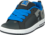 DC Shoes - Kids Court Graffik Shoe Battleship/Armor