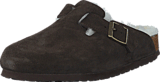 Birkenstock - Boston Regular Mocca Brown Fur