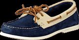 Gant - New Port cream/navy blue
