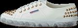 Superga - 2750-COTSTUDS White Gold