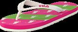 Ralph Lauren Junior - Amino Stripe White/Green/Pink