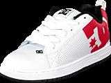 DC Shoes - Court Graffik Shoe White/Redblack