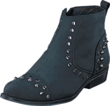 Shoe Biz - Short boot w rivets
