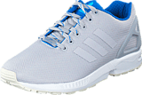 adidas Originals - Zx Flux Lgh Solid Grey/Shock Blue