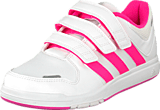 adidas Sport Performance - Lk Trainer 6 Cf K White/Solar Pink/Light Pink