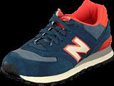 New Balance - WL574PBL Blue/orange