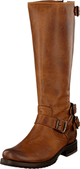 Frye - Veronica Back Zip Cognac