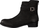 Bianco - Ankle Leather Boot Black