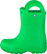 Crocs - Handle It Rain Boot Kids Grass Green