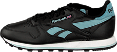 Reebok Classic - Cl Leather Pop Sc Black/Blue/Blue/White