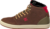 DC Shoes - Crisis High Wnt Shoe Chocolate/Green