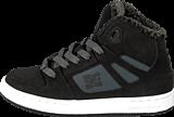 DC Shoes - Kids Rebound Wnt Shoe Black/Charcoal