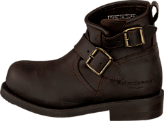 PrimeBoots - Engineer Low-3 Old crazy testa + brass