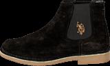 U.S. Polo Assn - Faust 1 Suede Black