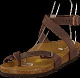 Birkenstock - Yara Regular Leather Habana Brown