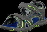 Merrell - Panther Sandal Grey/Blue