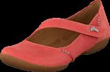 Clarks - Felicia Plum Coral Nubuck